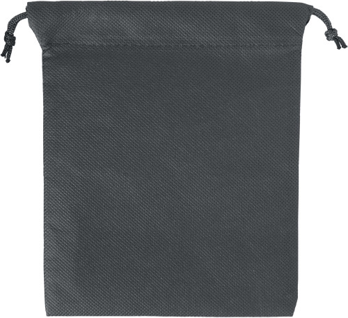 Nonwoven, drawstring pouch