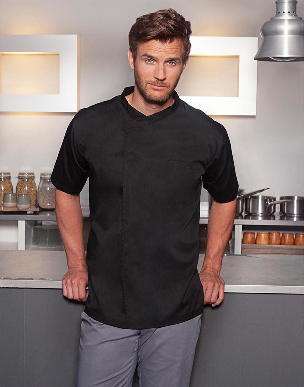 Chef's Shirt Basic Short Sleeve