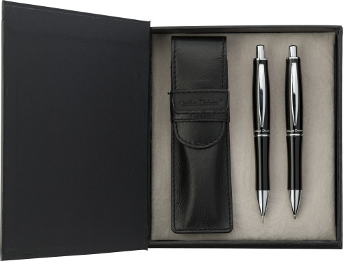 Metal Charles Dickens® writing set