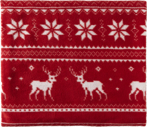 Polar fleece reindeer blanket (180 gr/m2)