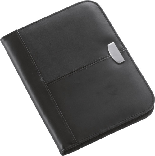 Bonded leather folder