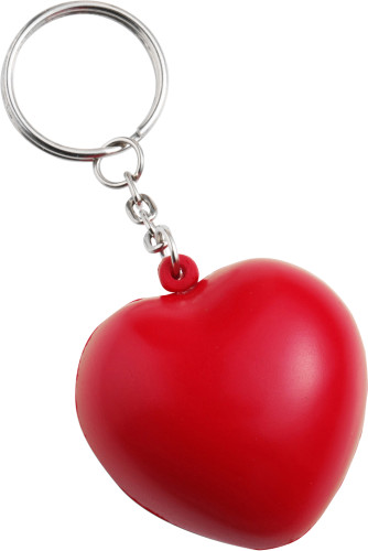 Anti stress heart, key holder