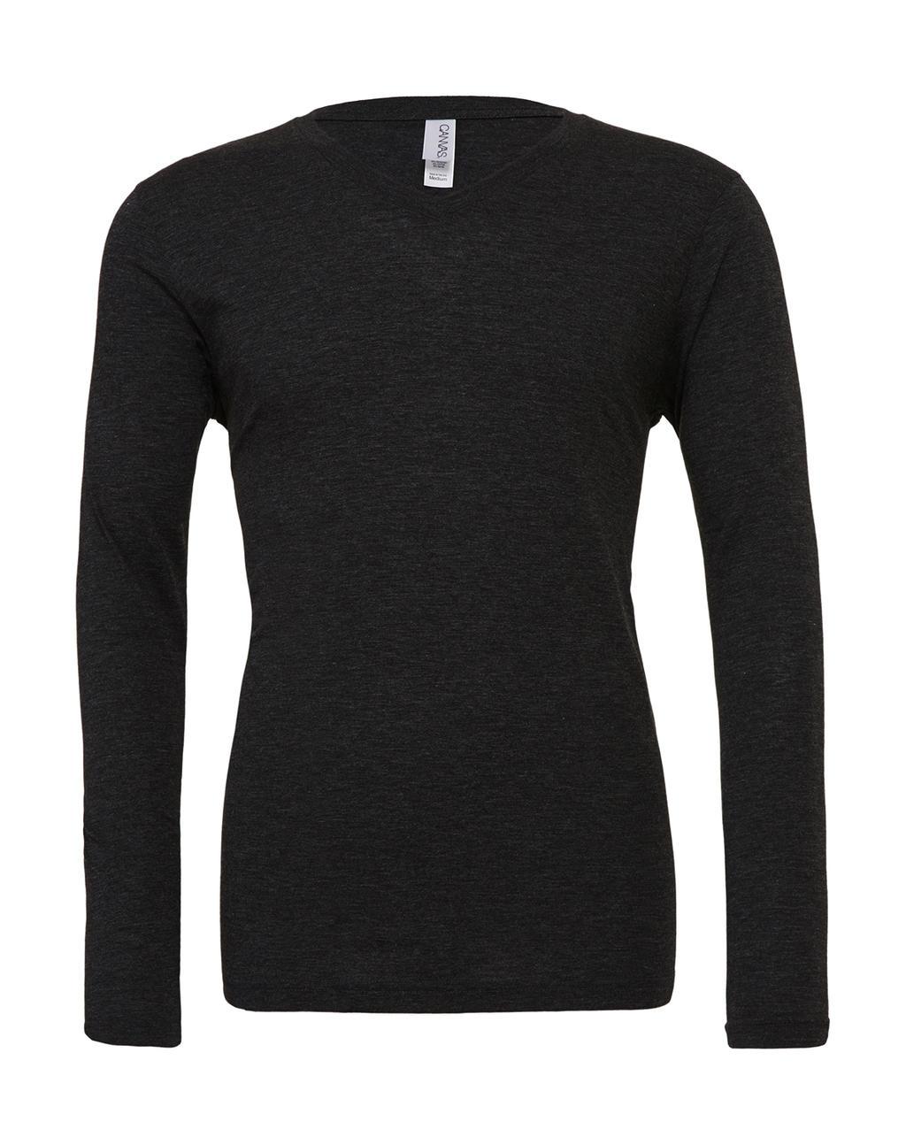 Unisex LS V-Neck T-Shirt