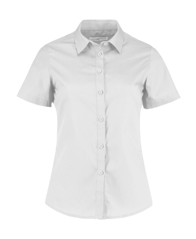 Women's Tailored Fit Poplin Shirt SSL