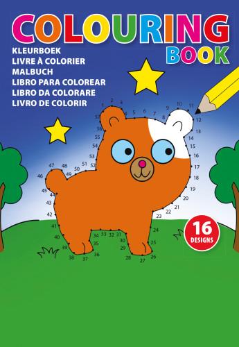 A5 Children's colouring book.