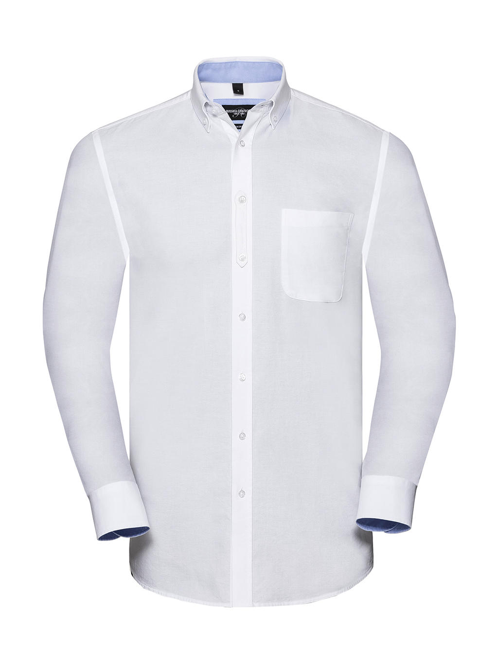 Men's LS Tailored Washed Oxford Shirt
