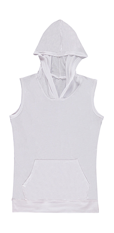 Cecilia Women's Sleeveless Hooded T-Shirt