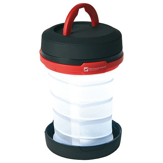 SCHWARZWOLF LUCA Watt Utility Camping Lantern,cloth and spring for body