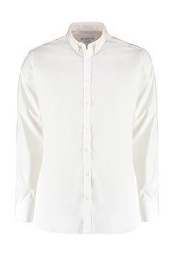 Slim Fit Stretch Oxford Shirt LS