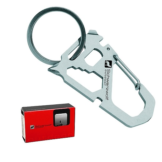 SCHWARWOLF ANTISANA Multifunctional keychain